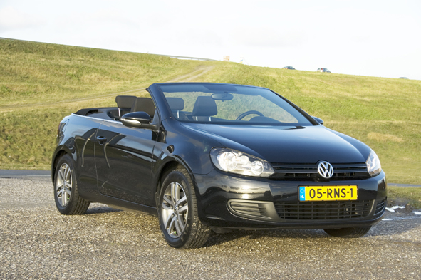 Volkswagen Golf Cabrio 1.6 TDi Bluemotion