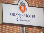 Reclamebord Oranjehotel