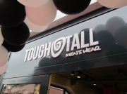 Opening Tough&Tall Men's wear in Apeldoorn