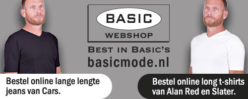 Basic Mode Webshop ook voor lange mannen