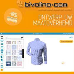 Bivolino.com overhemden op maat