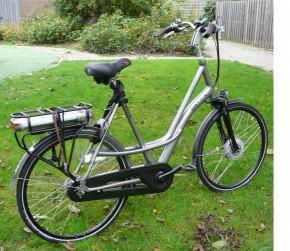e-bike lange mensen