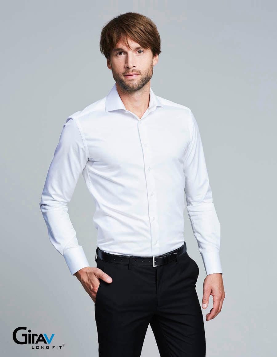 Overhemden voor lange(re) mannen van Girav