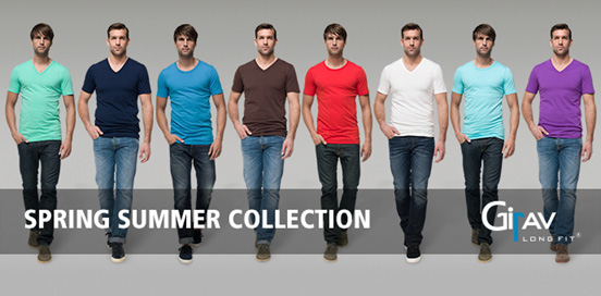 De nieuwe Girav 2014 spring/summer collectie is online