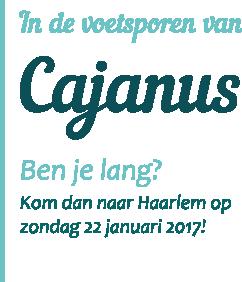 In de voetsporen van Cajanus
