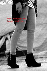 Dé oplossing voor de vrouw met lange benen