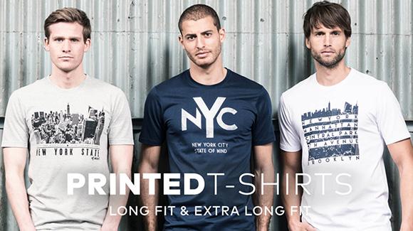 Lange t-shirs met print