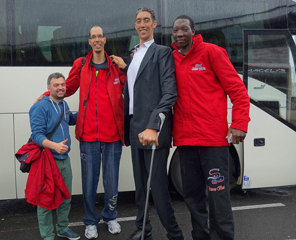 Langste mannen ter wereld