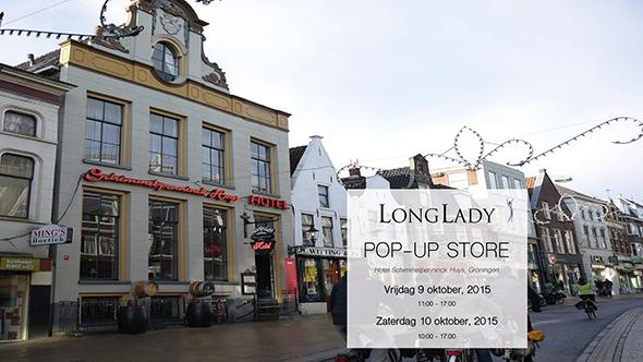 LongLady pop-up store Groningen