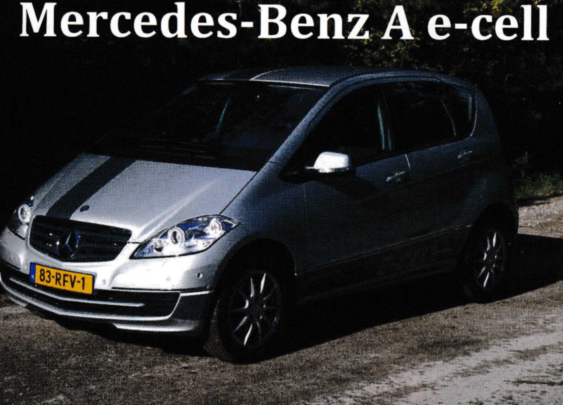 Mercedes-Benz A e-cell