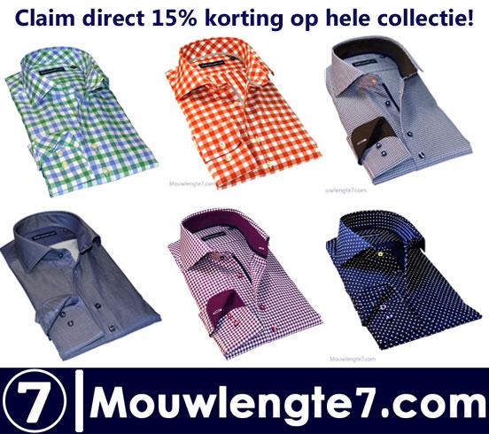 Claim direct 15% korting op de hele collectie!