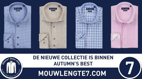 De nieuwe collectie Sleeve7 is binnen op Mouwlengte7.com