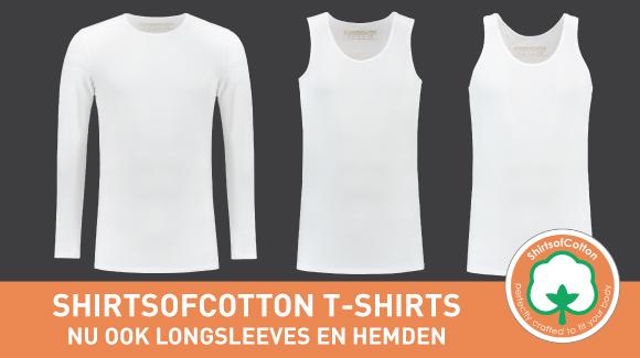 ShirtsofCotton: nu ook longsleeves en hemden