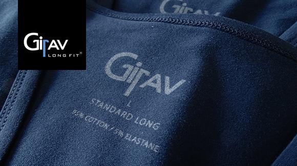 Nieuwe Girav basics in Navy blauw