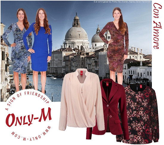 Only-M. mode voor lange vrouwen