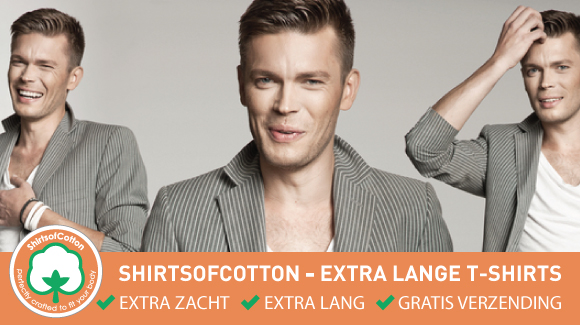 ShirtsofCotton T-shirts: nu nog zachter