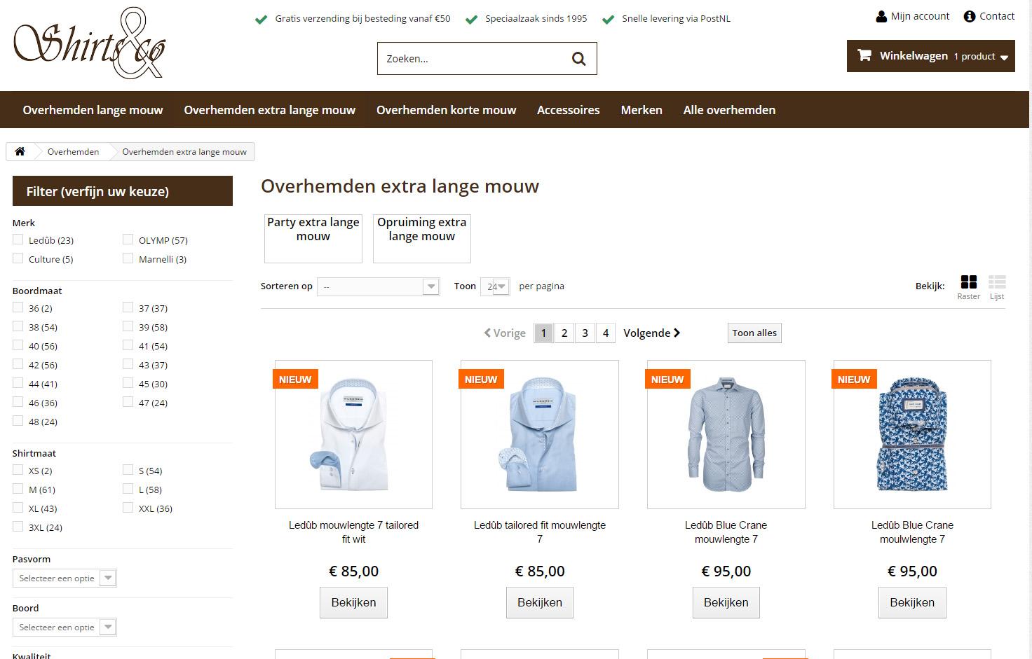 Shirts & co webshop