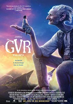 Filmposter De GVR - De Grote Vriendelijke Reus
