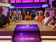 Lange mensen te gast bij RTL Late Night